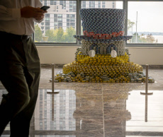 27th Annual Canstruction design competition in New York