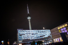 Festivities to mark 30th anniversary of the fall of the Berlin Wall, Berlin, Germany - 08 Nov 2019 ***
