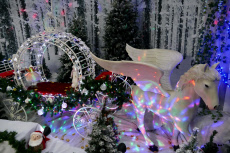 Christmas Grotto at Toad Hall, Henley on Thames, Oxfordshire, UK - 09 Nov 2019