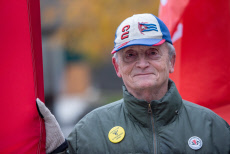 Public Healthcare cuts protest, Toronto, Canada - 09 Nov 2019