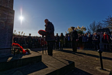 Remembrance Sunday Service, Swansea, UK - 10 Nov 2019