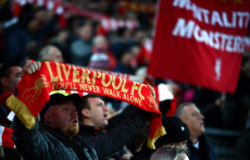Liverpool v Manchester City, Premier League, Football, Anfield, Liverpool, UK - 10 Nov 2019