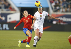 Soccer: International Friendly Women's Soccer-Costa Rica at USA