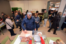 General Elections in Barcelona, Spain - 10 Nov 2019