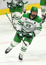 NCAA Men's Hockey Miami v North Dakota, Grand Forks, USA - 09 Nov 2019