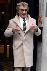 Rod Stewart out and about, London, UK - 11 Nov 2019