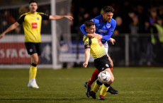 Harrogate Town v Portsmouth, Emirates FA Cup First Round, Football, CNG Stadium, UK - 11 Nov 2019