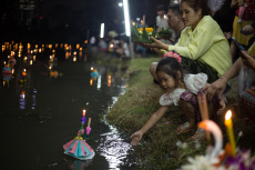 Loy Kratong celebration in Bangkok, Thailand - 11 Nov 2019