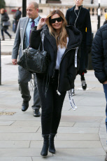 Louise Redknapp out and about, London, UK - 12 Nov 2019