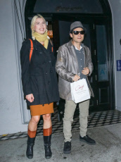 Corey Feldman and Courtney Anne Mitchell out and about, Los Angeles, USA - 11 Nov 2019