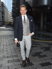 James W Phillips out and about, London, UK - 12 Nov 2019