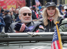 Veteran's Day parade, New York, USA - 11 Nov 2019