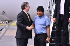 Mexico: Evo Morales political asylum in Mexico City