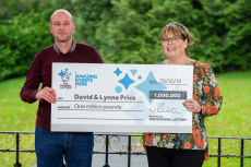 Lottery winner Lynne Price, Tredegar, Wales, UK - 12 Nov 2019
