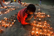 Dev Deepawali festival in Kolkata, India - 12 Nov 2019