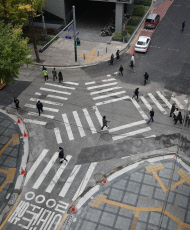 Seoul to increase diagonal crosswalks