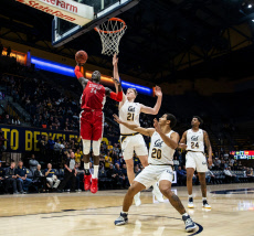 NCAA Men's Basketball UNLV  vs  Cal, Berkeley, USA - 12 Nov 2019
