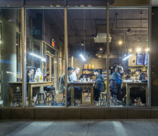 Free wi-fi and coffee in Chelsea in New York