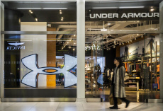 Under Armour store in New York