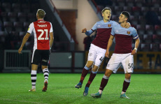 Exeter City v West Ham United U21, Leasing.com Trophy, Football, St James Park, UK - 13 Nov 2019
