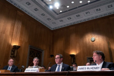 'Unprecedented Migration at the U.S. Southern Border: The Year in Review' hearing before the U.S. Senate Committee on Homeland Security and Governmental Affairs, Washington DC, USA - 13 Nov 2019