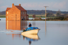 Flooding in Lincolnshire, UK - 13 Nov 2019
