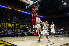UNLV Runnin Rebels v California Golden Bears, NCAA Basketball, Hass Pavilion, Berkeley, Los Angeles, USA - 12 Nov 2019