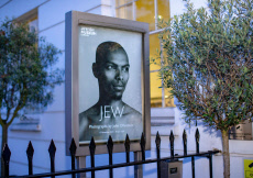 John Offenbach's 'JEW' Exhibition, London,  UK - 14 Nov 2019