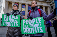 NYC: World Diabetes Day protest at Wall Street