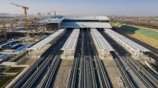China: New high-speed railway station to open amid China's massive infrastructure investment
