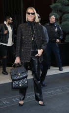 Celine Dion out and about, New York, USA - 15 Nov 2019