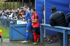 Romford vs Coggeshall Town, BetVictor League North Division, Football, the Brentwood Centre, Brentwood, Essex, United Kingdom - 16 Nov 2019
