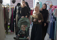 Russia: Family Islamic Market in Grozny, Chechnya
