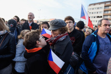 Protest against the ruling Government in Prague, Czech Republic - 16 Nov 2019