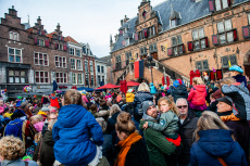 St. Nicholas and Anti-Black Piet protest in Nijmegen, Netherlands - 16 Nov 2019