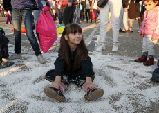 Russia: Antistress Fest mass pillow fight in Krasnodar Territory