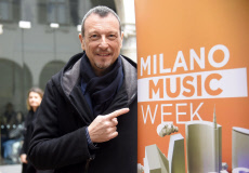 "Italy: Milan, ""Milano Music Week"" with Amadeus"