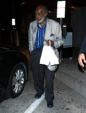 Clarence Avant out and about, Los Angeles, USA - 18 Nov 2019
