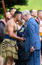 Prince Charles and Camilla Duchess of Cornwall visit to New Zealand, Day 3 - 18 Nov 2019
