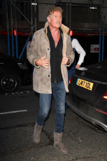 David Hasselhoff out and about, London, UK - 19 Nov 2019
