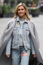 Ashley Roberts out and about, London, UK - 19 Nov 2019