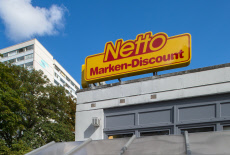 Lettering and logo of Netto Marken-Discount AG & Co. KG