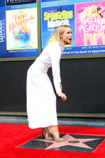 Idina Menzel and Kristen Bell Hollywood Walk of Fame Star Ceremony
