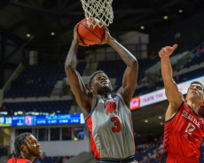 NCAA Basketball Seattle vs Ole' Miss, Oxford, USA - 19 Nov 2019