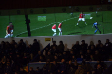 Rochdale v Wrexham, Emirates FA Cup First Round Replay, Football, Crown Oil Arena, UK - 19 Nov 2019