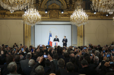 Paris: Emmanuel Macron receives France's Mayors
