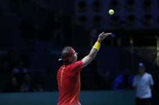 Day 3 of the 2019 Davis Cup in Madrid, Spain - 20 Nov 2019