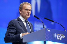 CROATIA-ZAGREB-EUROPEAN PEOPLE'S PARTY-CONGRESS-TUSK