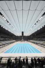 Olympic Swimming Venue under construction