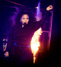 Janet Jackson in concert at Blaisdell Arena, Honolulu, Hawaii, USA - 20 Nov 2019